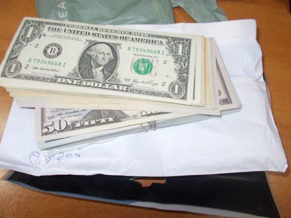 varna customs arrests dollars