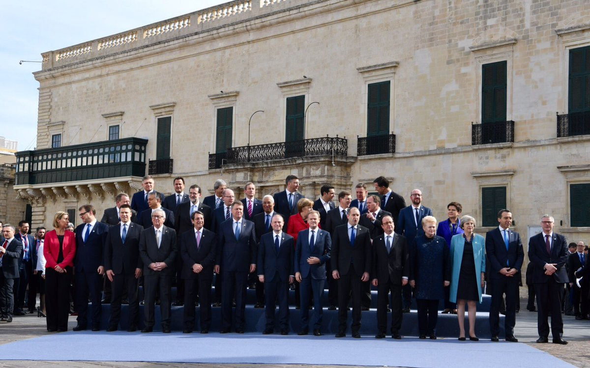 eu leaders meet in malta