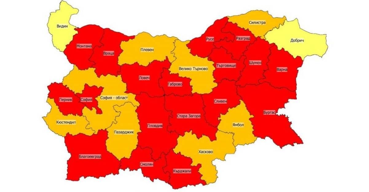 Covid 19 Close To Two Thirds Of Districts In Bulgaria Are Red Zones The Sofia Globe